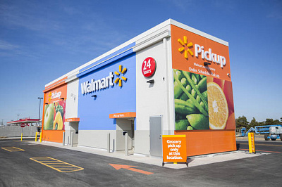 Walmart introduces automated grocery pickup kiosk at Oklahoma City store